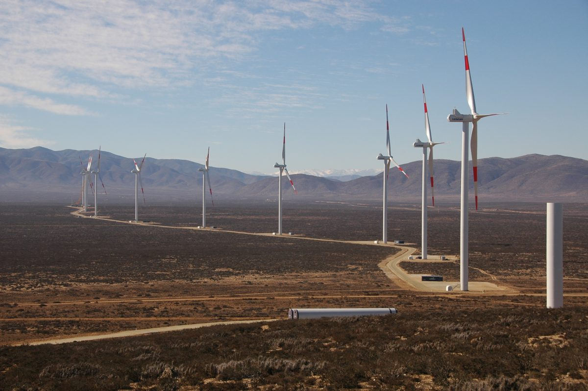 THE LARGEST CHILEAN WIND FARM INITIATES OPERATION