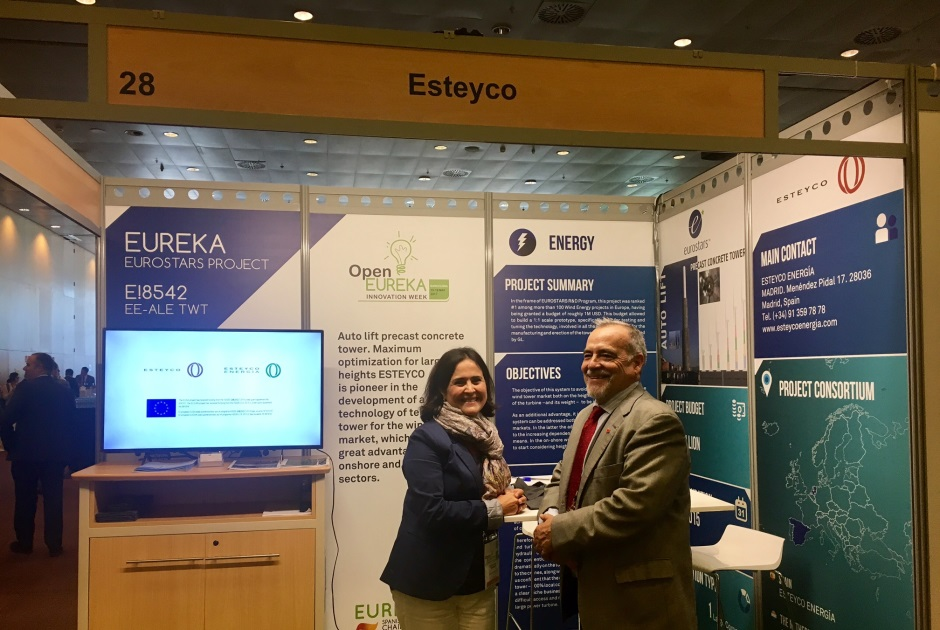 ESTEYCO PARTICIPÓ EN EL OPEN EUREKA INNOVATION WEEK 2017