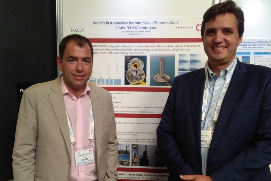 ESTEYCO PRESENT AT THE OFFSHORE WIND ENERGY EXHIBITION 2017