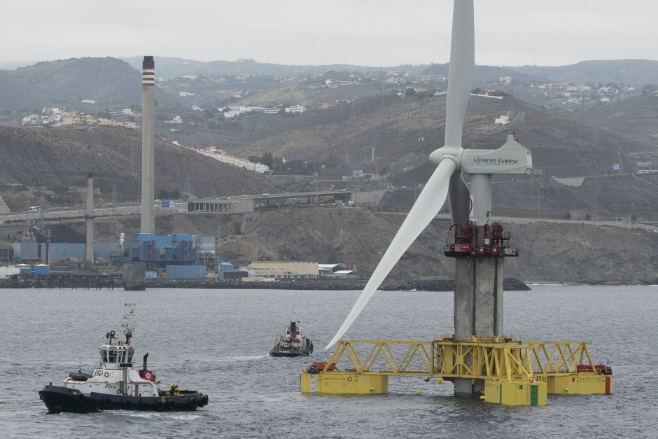 ELICAN PROJECT: WORLD'S OFFSHORE WIND TOWER PIONEER