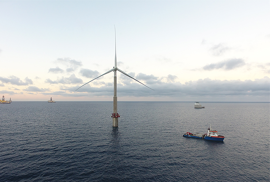 ELICAN PROJECT: THE WORD's PIONEER OFFSHORE WIND TURBINE