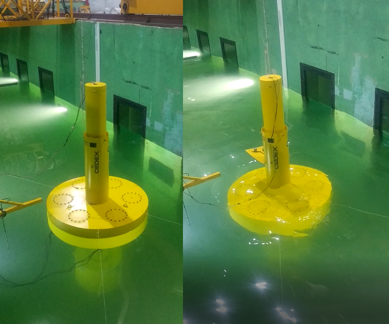 TELWIND OFFSHORE INSTALLATION TANK TESTS COMPLETED