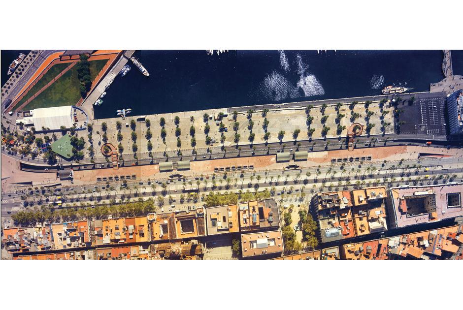 Urbanizaci n de la explanada del forum 2004 barcelona for Oficinas randstad barcelona