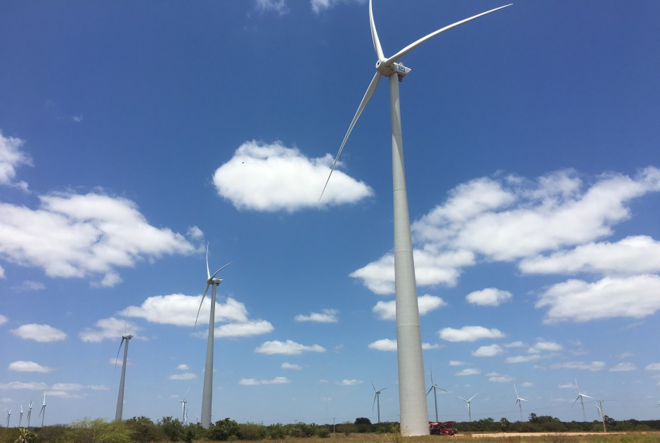 COMMISSIONING OF THE FIRST WIND TURBINES IN THE CUTIA E BENTO MIGUEL WIND COMPLEX