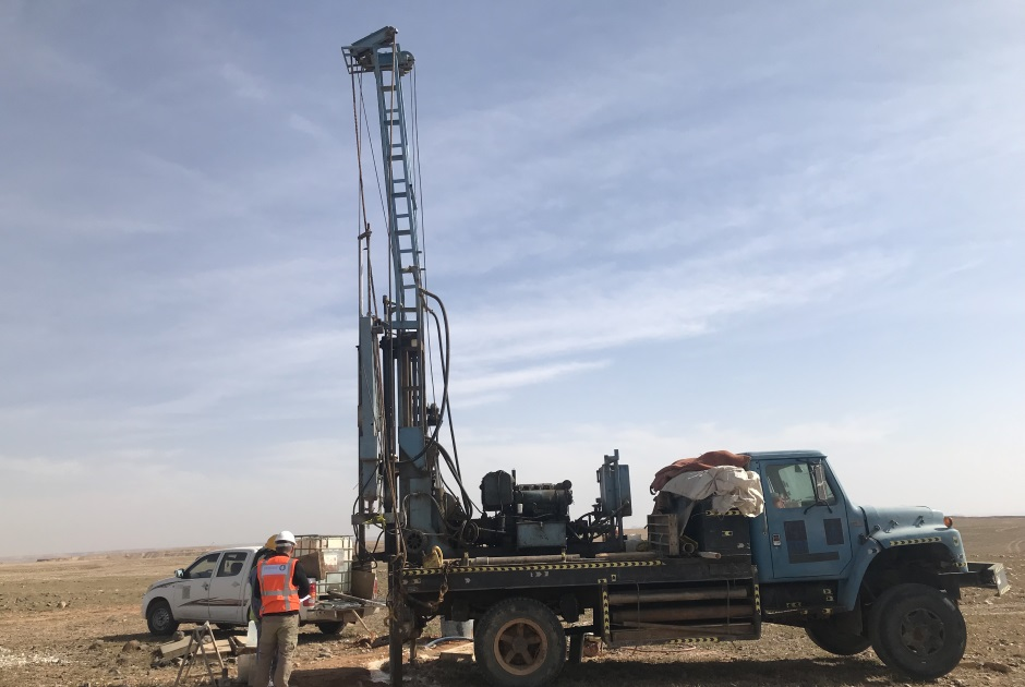 ESTEYCO FINISHES THE GEOTECHNICAL SURVEY WORKS OF THE FIRST GREATEST WIND FARM IN SAUDI ARABIA. DUMAT AL JANDAL WIND FARM