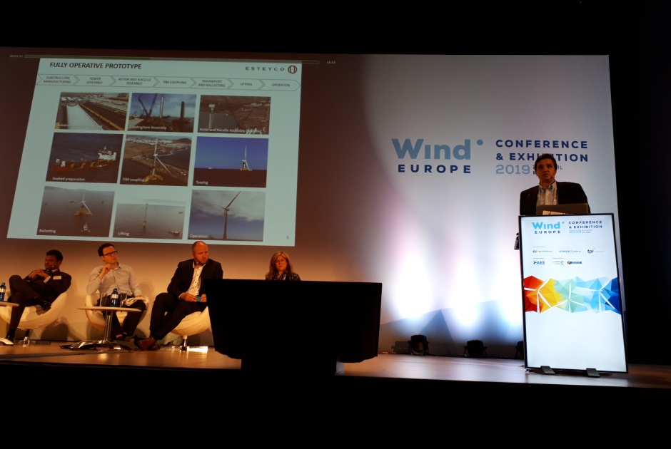 ESTEYCO PRESENTS THE CULMINATION OF THE ELICAN PROJECT AT THE WIND EUROPE EXHIBITION 2019 IN BILBAO