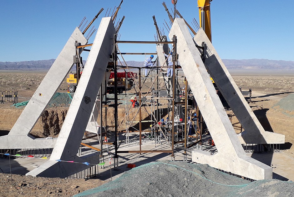 ESTEYCO IS BUILDING THE FIRST PRECAST BRACED FOUNDATIONS IN CHINA