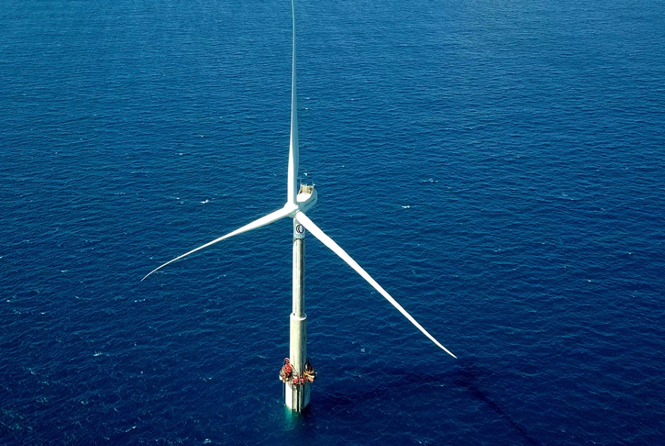 OFFSHORE WIND TURBINE WITH ELISA INNOVATIVE TECHNOLOGY