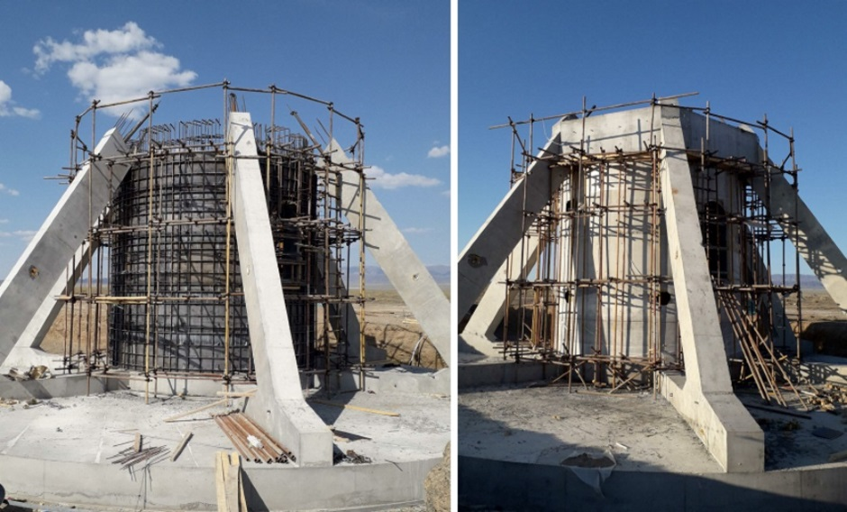 ESTEYCO BUILDS IN CHINA THE FIRST FOUNDATIONS WITH PRECAST FLOOR SLABS