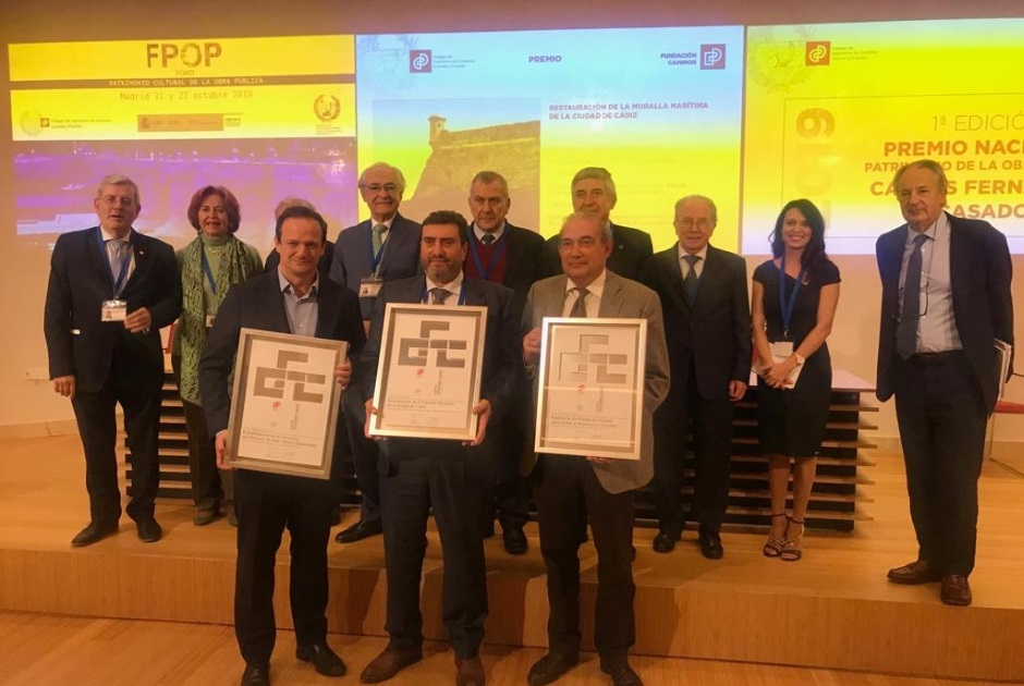 SECONDARY AWARD DUE TO RESTORATION OF SANT ANTONI MARKET BUILDING. CARLOS FERNÁNDEZ CASADO NATIONAL AWARD