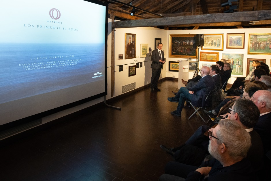 "PRESENTATION EVENT OF THE BOOK ""THE FIRST 50 YEARS"" OF ESTEYCO"