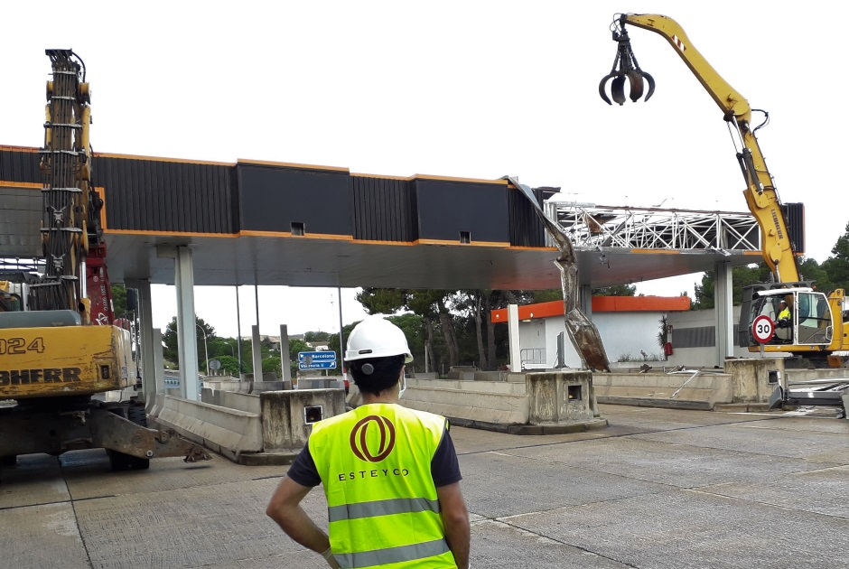 TECHNICAL ASSISTANCE AT AP-7 TOLL DISMANTLING (VILASECA -CASTELLÓN)